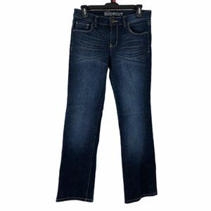 New York And Co Womens Boot Cut Jeans 6 Petites